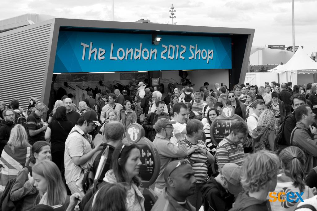 Kiosk Olympische Spelen 2012