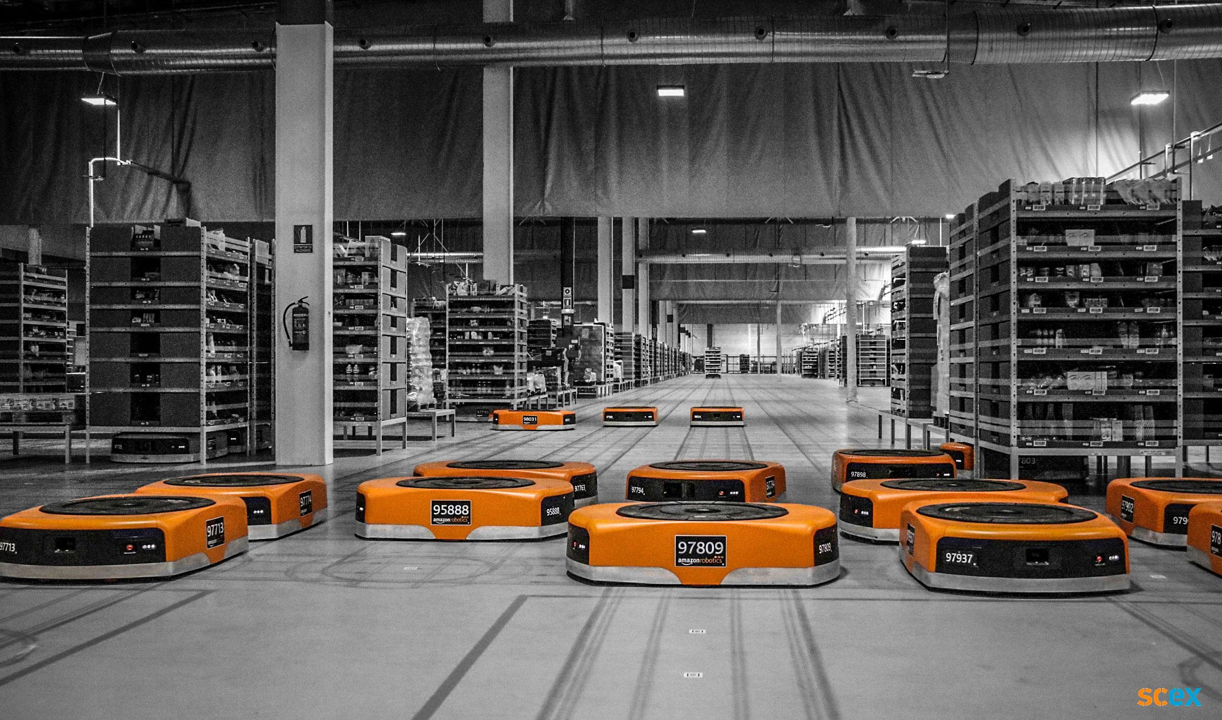 Warehouse robotisering