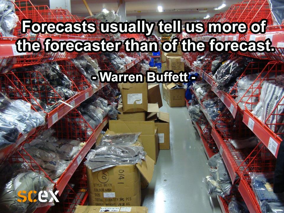 Forecasts zijn best moeilijk
